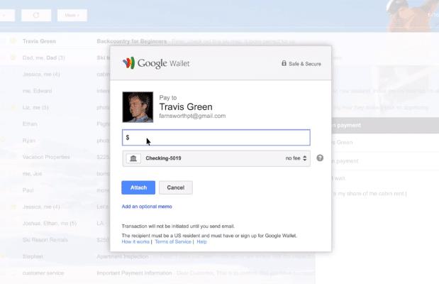 Gmail ile Para Transferi