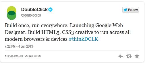 Google Web Designer, Ücretsiz HTML5 Web Geliştirme Aracı
