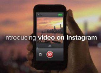 Instagram ile Video Çekimi