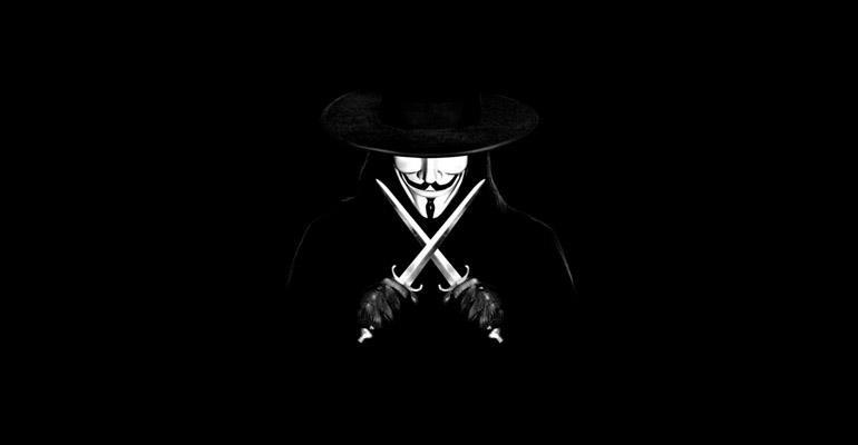 V for Vendetta iTunes'da Birinci Sırada