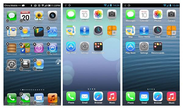 iphone 6 launcher android telefonunuzu iphone a 199 evirecek 6 uygulama 11353