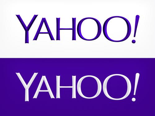 Yahoo'nun Yeni Logosu