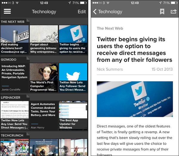 Pulse - iPhone Uygulaması
