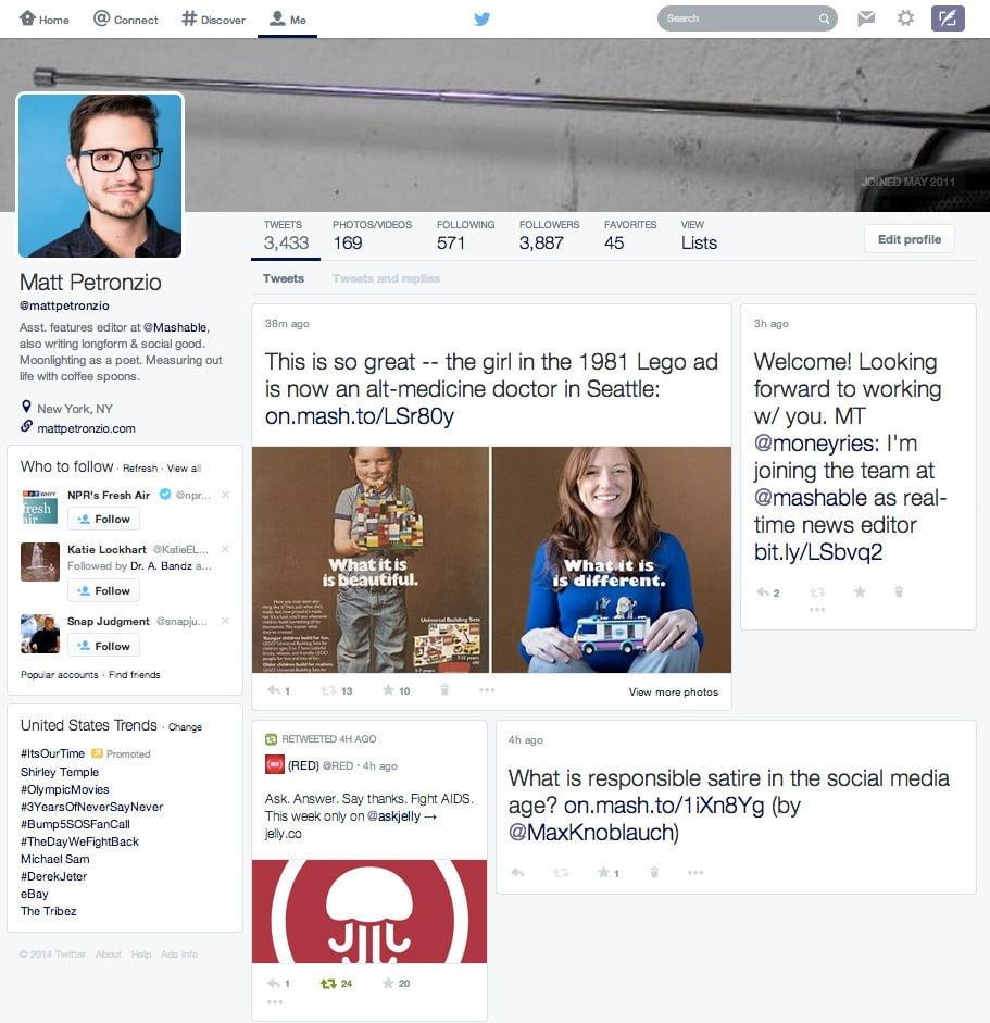 Twitter'dan Yeni Tasarım