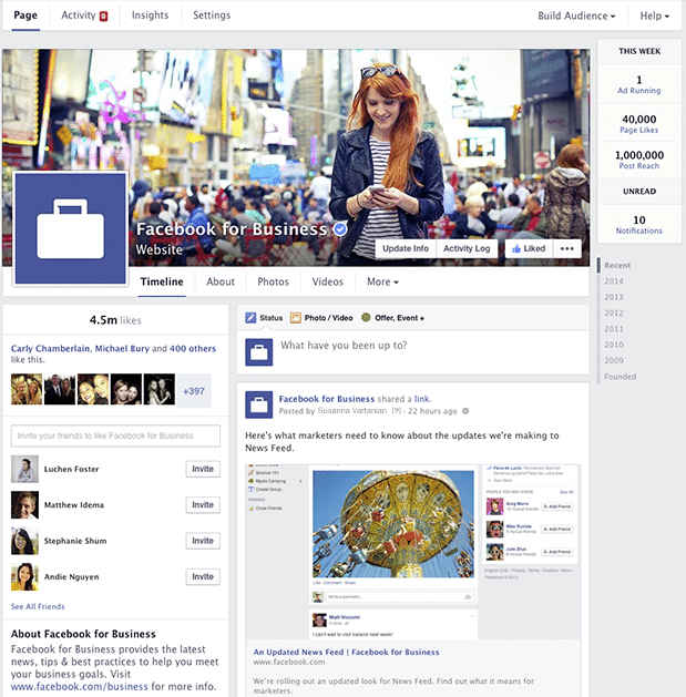 Facebook Sayfaları Yenileniyor - Görsel 1