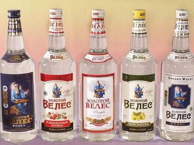 Rus Hükümetinin gelirinin %10'u vodka satışından sağlanıyor.