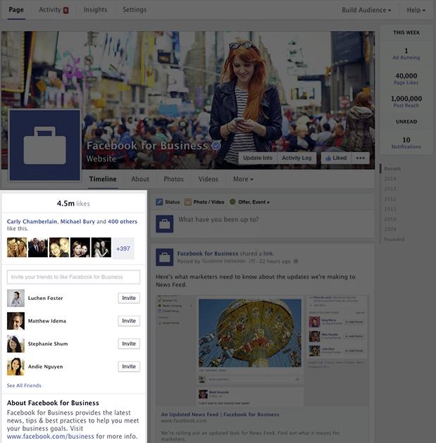 Facebook Sayfaları Yenileniyor - Görsel 3