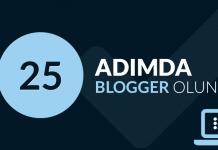 25 Adımda Blogger Olun
