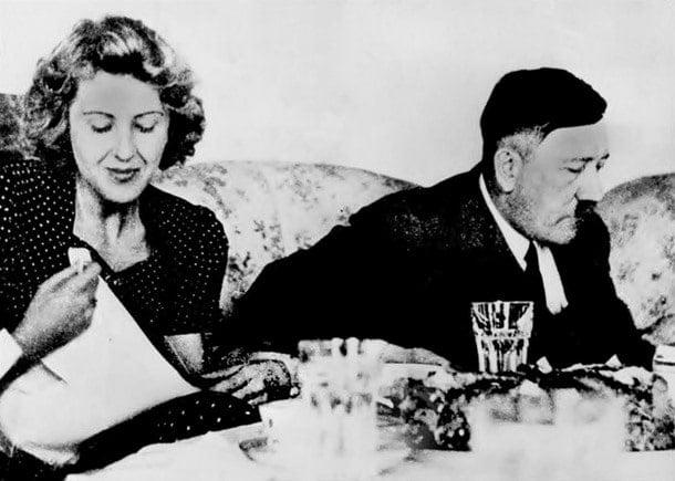 1-Hitler Eva Brown ile evlendi ve ertesi gün intihar etti.