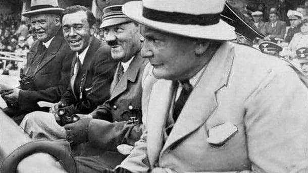 23-Başarılı bir olimpiyatcıya Hitler'in hediyesi