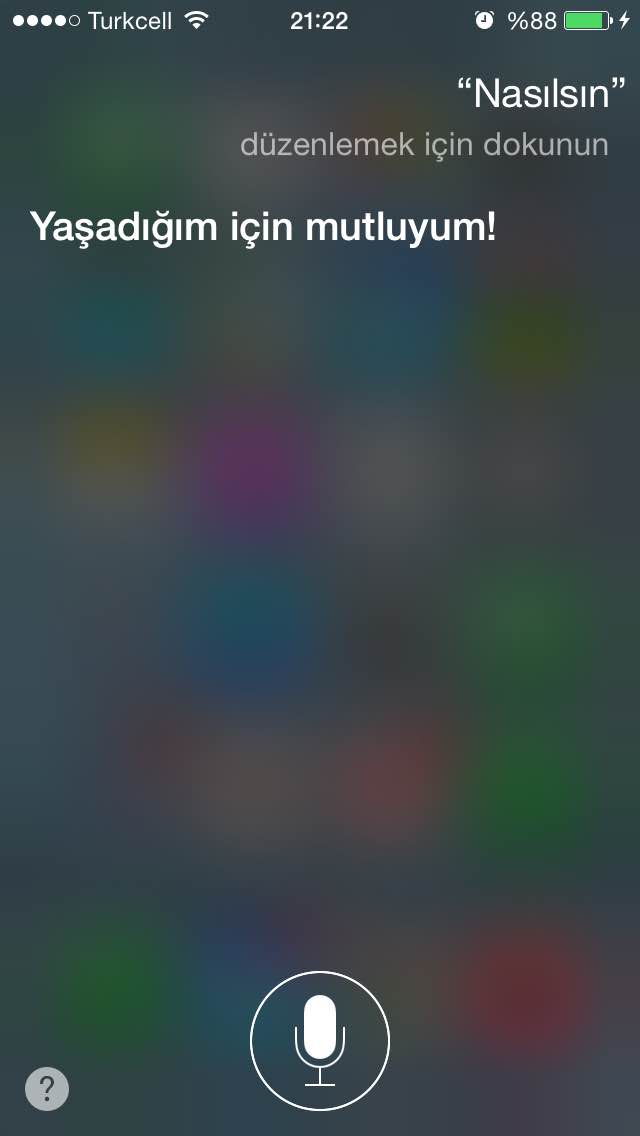 Türkçe Siri