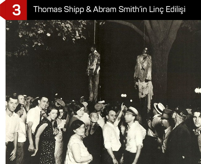 Thomas Shipp & Abram Smith'in Linç Edilişi