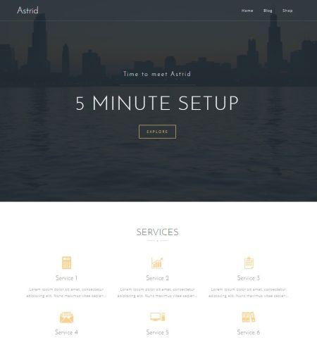 Astrid - WordPress Teması