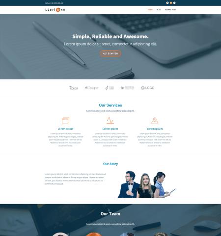 Llorix One - WordPress Teması