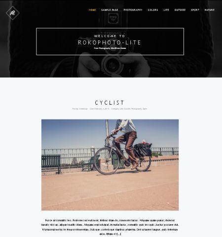 RokoPhoto Lite - WordPress Teması