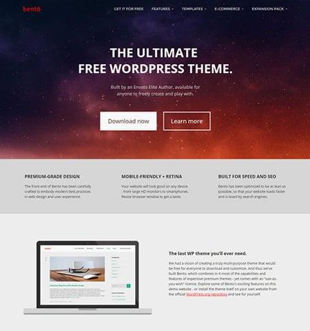 Bento - WordPress Teması