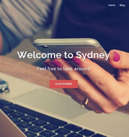 Sydney - WordPress Teması
