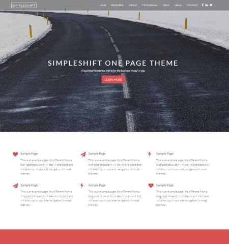 SimpleShift - WordPress Teması