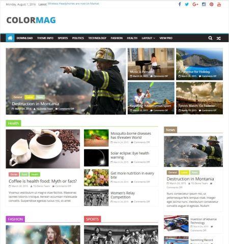 ColorMag - WordPress Teması
