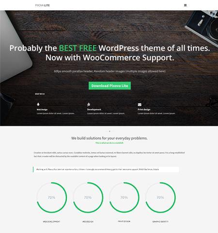 Pixova Lite - WordPress Teması