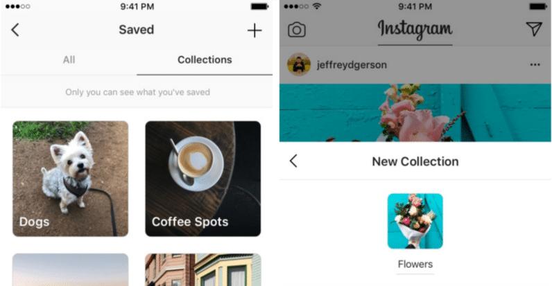 Instagram ile Koleksiyonlar Oluşturun