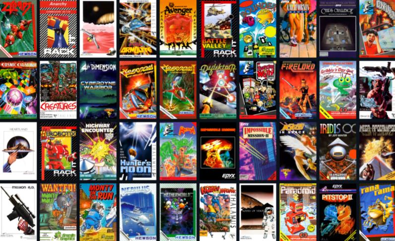 C64 Mini Lisanslı Oyun Listesi