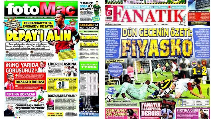 Spor Gazeteleri - Fotomaç ve Fanatik